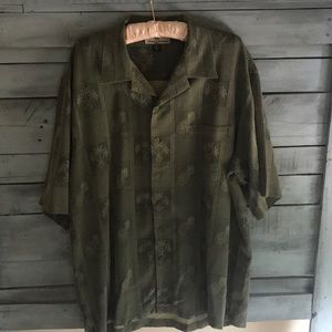 Tommy Bahama 100% silk shirt XXL